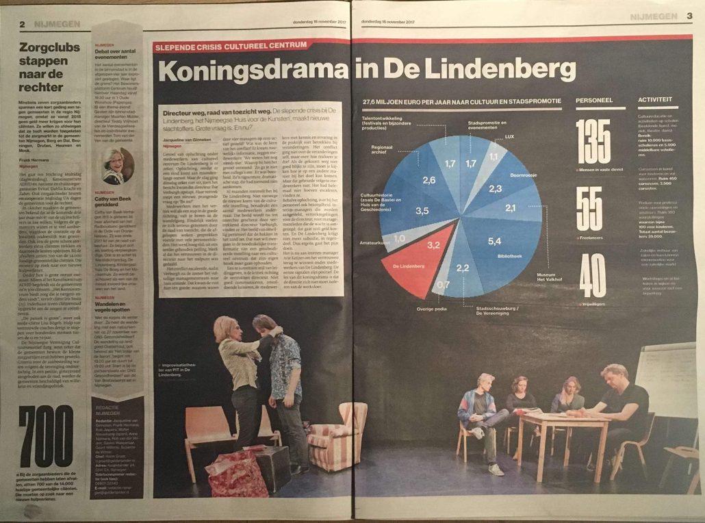 improvisatietheater theatergroepPIT paginagroot gelderlander